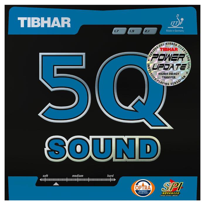 Offensief rubber Tibhar 5Q Sound