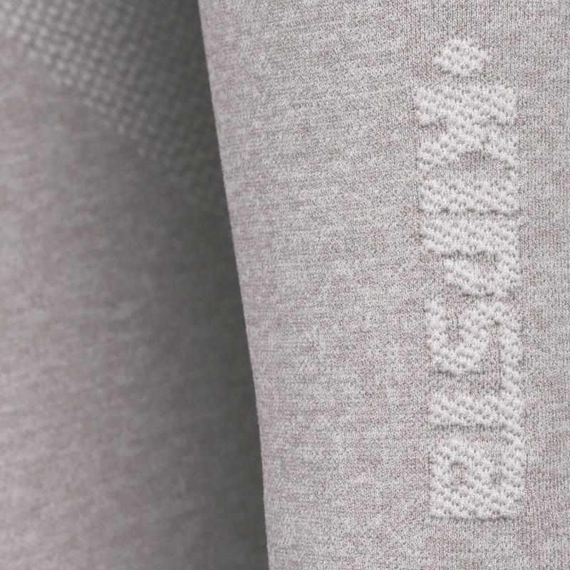 Keepdry 500 Adult Breathable Long Sleeve Base Layer - Heather Grey
