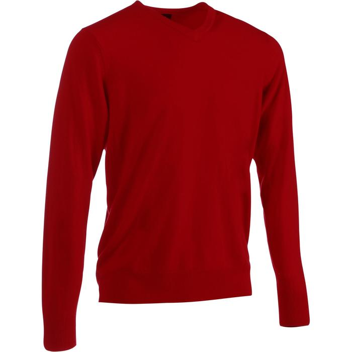 PULL GOLF HOMME FIRST'IN ROUGE