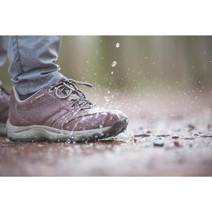 Chaussures marche sportive femme Nakuru Novadry cuir - 950293