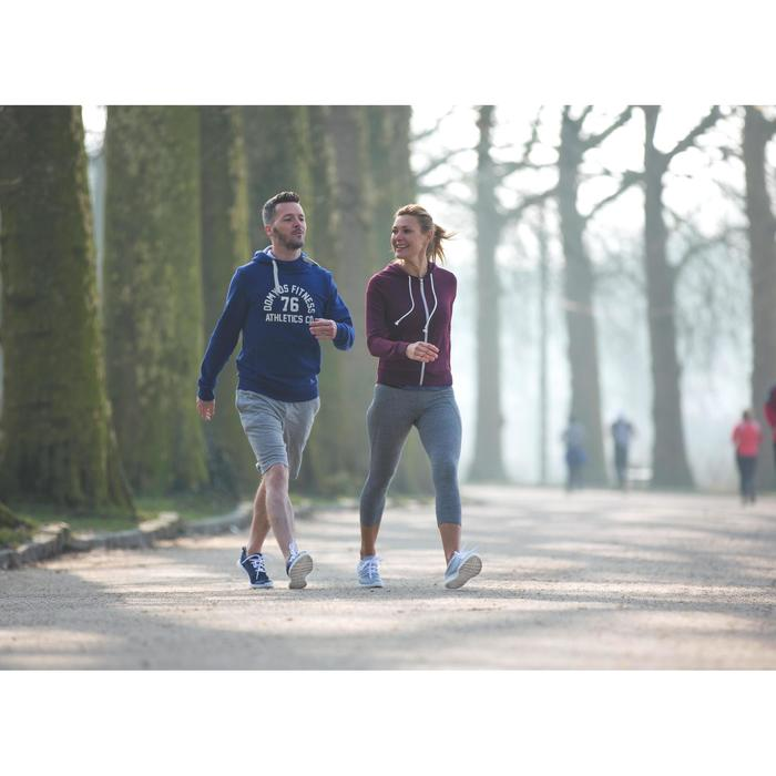 Chaussures marche sportive femme Soft 100 Mesh gris clair - 950303