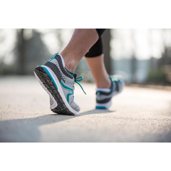 Chaussures marche sportive femme PW 240 gris / bleu