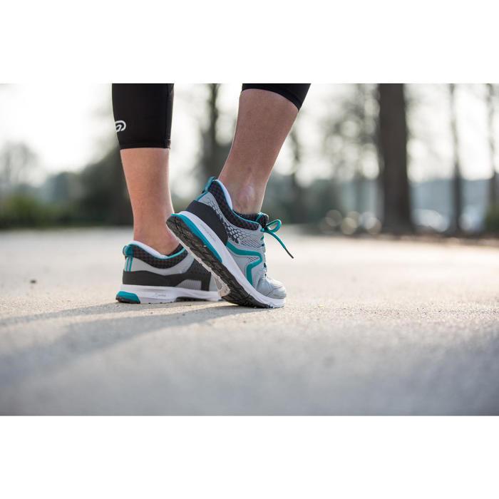 Damessneakers PW 240 grijs/blauw