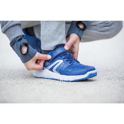 Kindersneakers wandelen Protect 140 grijs/wit