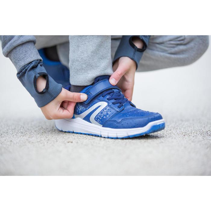 Sportschuhe Walkingschuhe Protect 140 Kinder grau/gelb