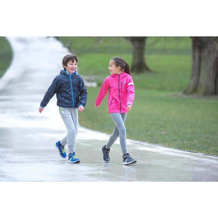 Kindersneakers voor wandelen Protect 580 waterproof grijs / wit