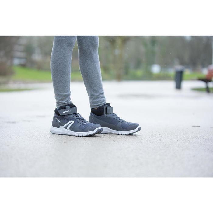 Chaussures marche enfant Protect 580 Waterproof gris / blanc