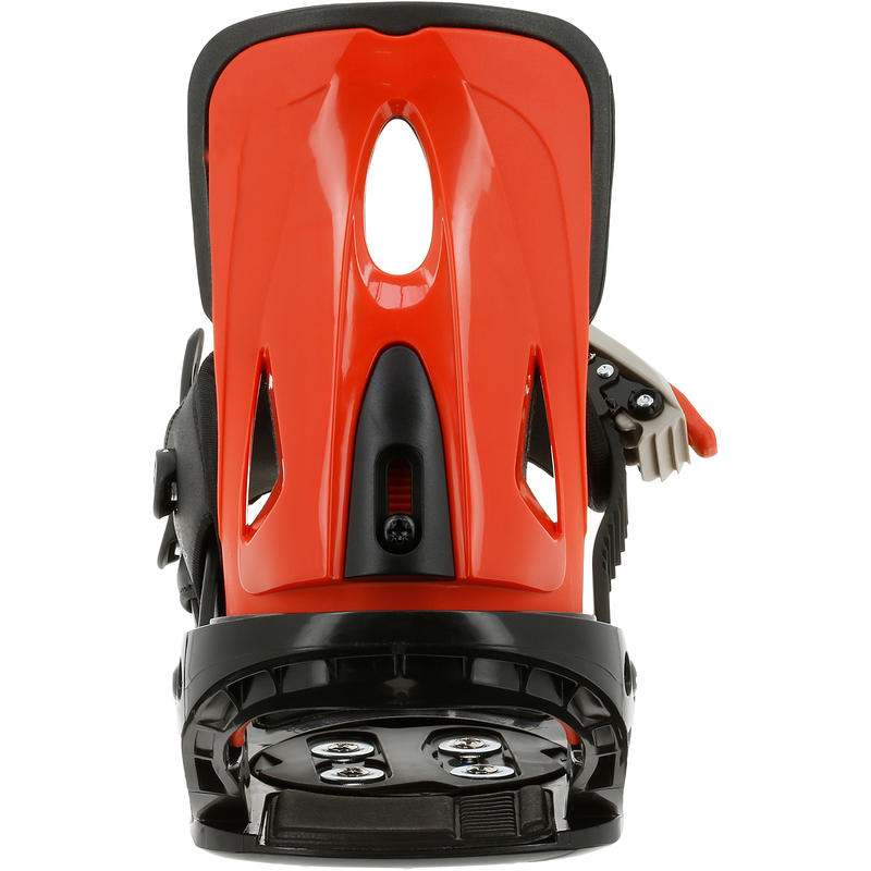 Illusion 300 Youth Children's Snowboard Bindings - Black/Red