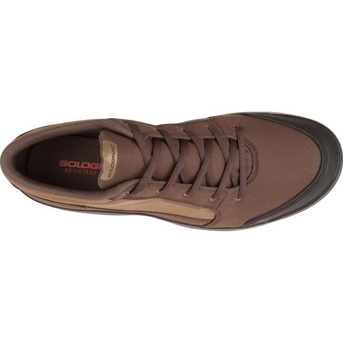 Chaussure chasse light 100 basse marron - 950751