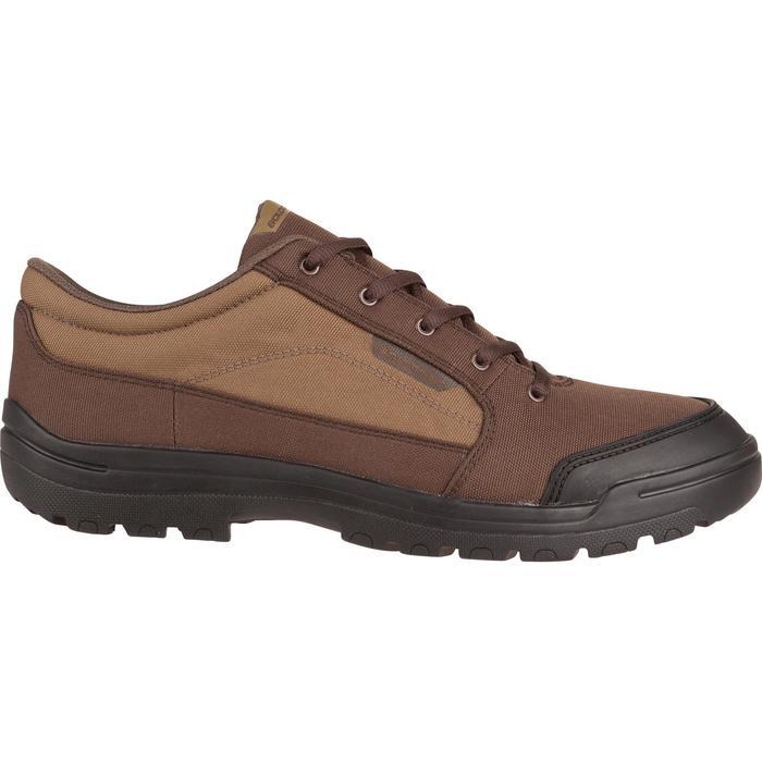Chaussure chasse light 100 basse marron - 950752