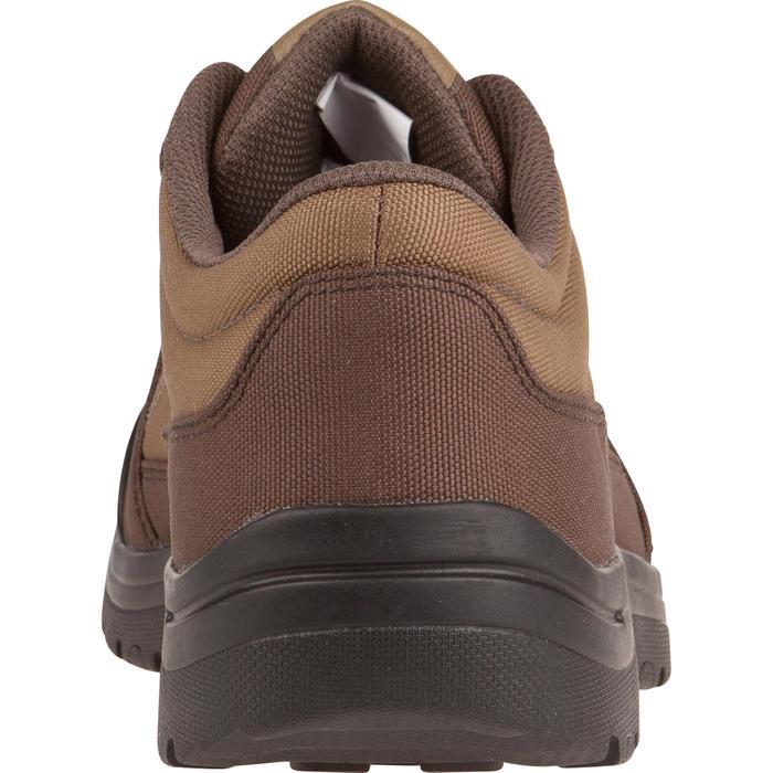 Chaussure chasse light 100 basse marron - 950754