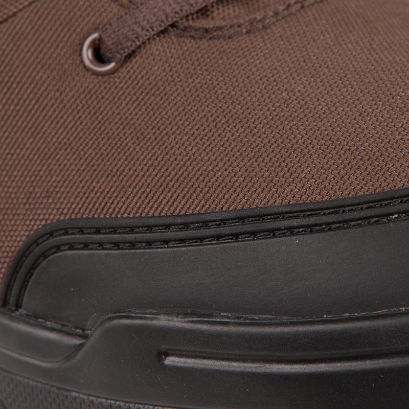 Chaussures chasse Légères respirantes 100 basse marron