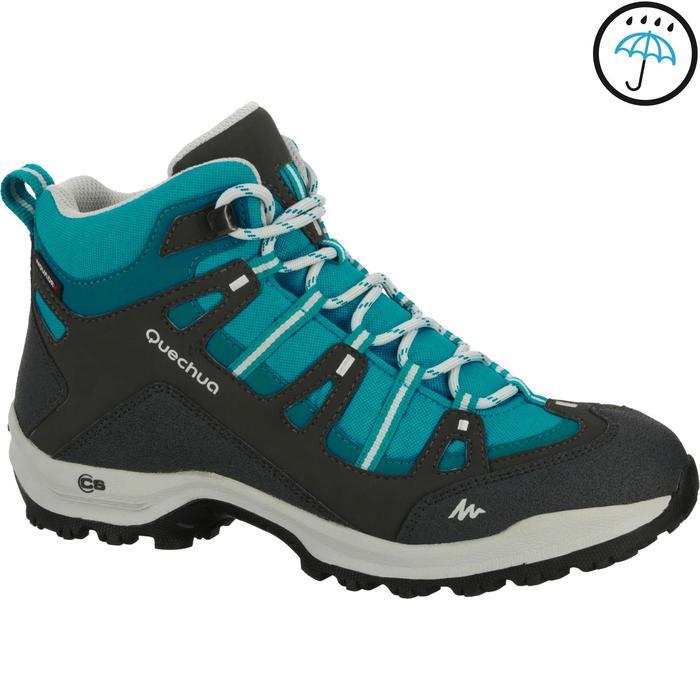 Chaussures de randonnée Nature femme Arpenaz 100 mid imper violette. - 950888
