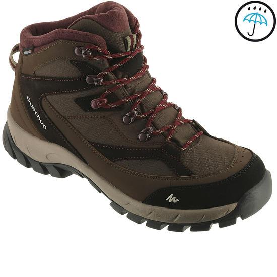 Hoge waterdichte wandelschoenen voor dames Forclaz 100 - 950907