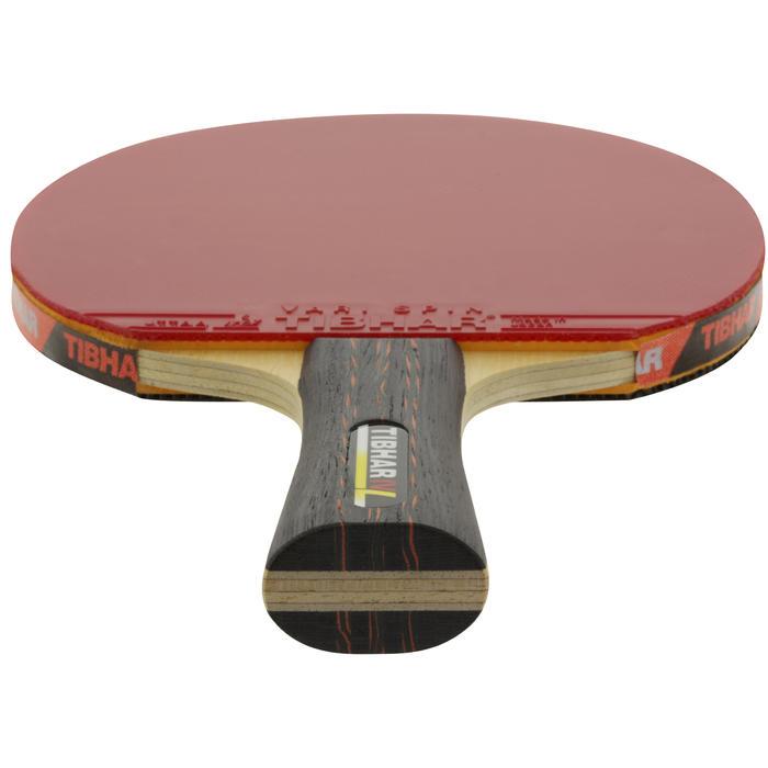 No brand raquette de tennis de table tibhar superallround vari spin decathlon - Raquette de tennis de table decathlon ...