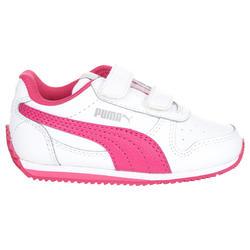 Babyschoentjes Fieldsprint wit/roze - 952053