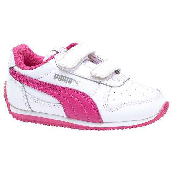 Babyschoentjes Fieldsprint wit/roze - 952054