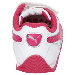 Babyschoentjes Fieldsprint wit/roze - 952056