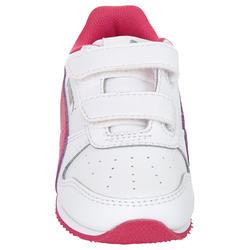 Babyschoentjes Fieldsprint wit/roze - 952057