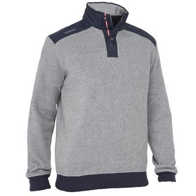 Sailing 100 Men's Warm Sailing Pullover - Grey
