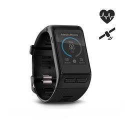 Reloj conectado multideporte con pulsómetro muñeca y GPS Vivoactive HR negro