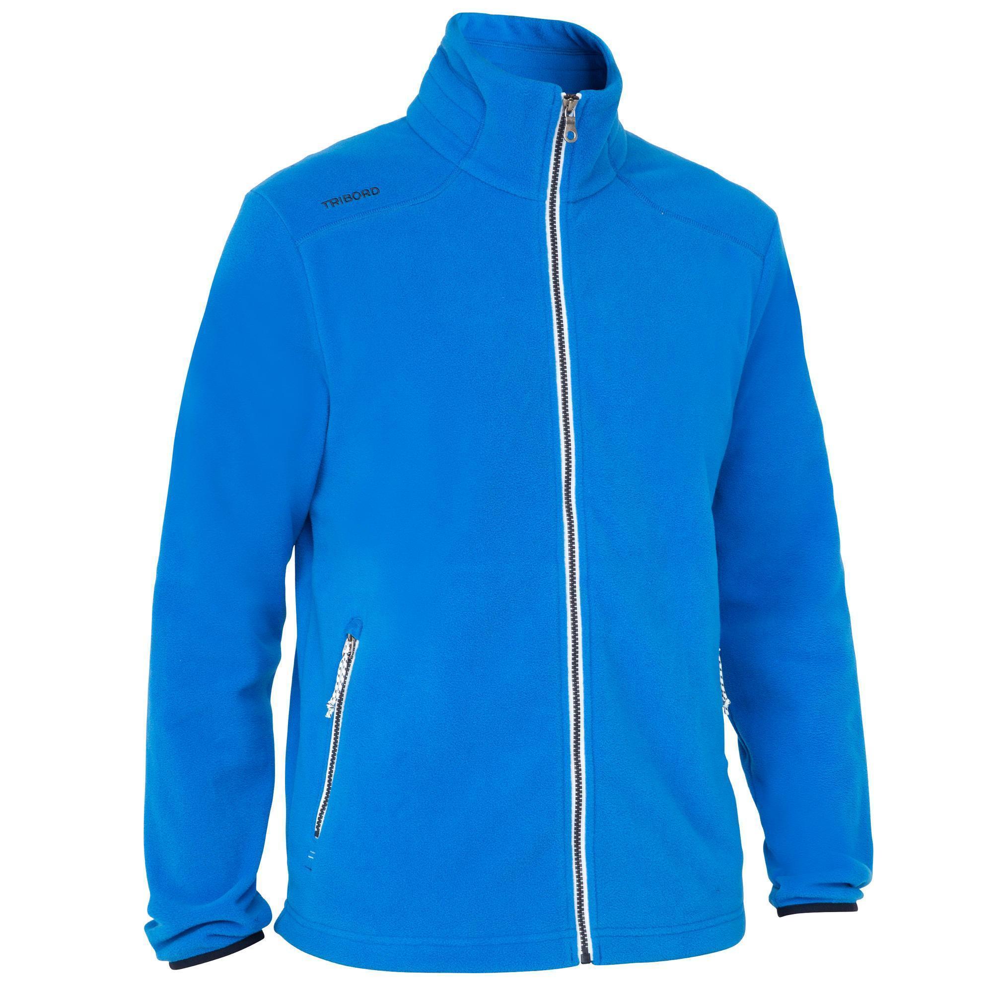 Polaire 100 homme bleu vif 905628cea2b