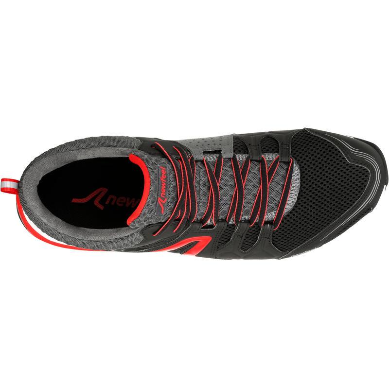 Chaussures marche sportive homme PW 240 noir / rouge