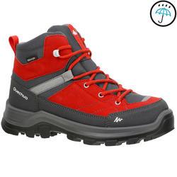 Chaussures de randonnée enfant Forclaz 500 Mid imperméables