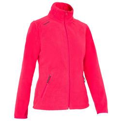100 女用防潑水航海運動刷毛外套 - 粉紅色