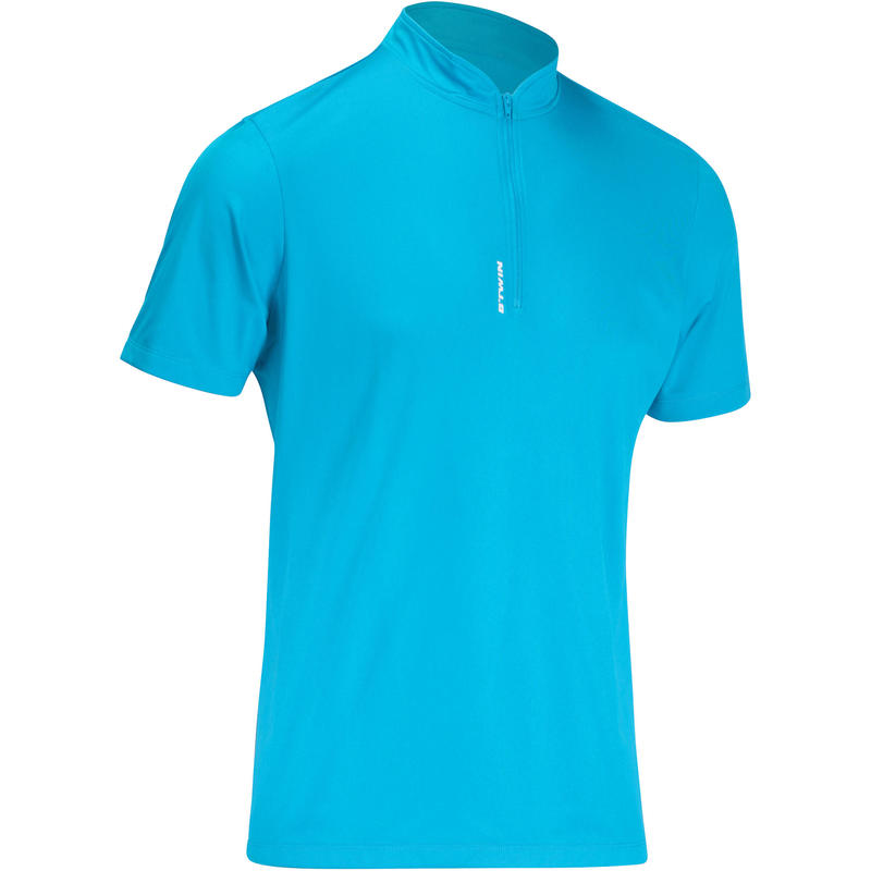 Essential Road Cycling Short-Sleeved Jersey - Blue d2fe170fd