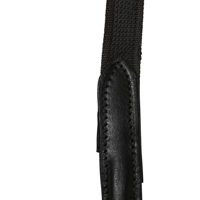 Trense und Zügel Paddock Pferd schwarz