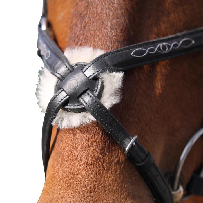 Filet + rênes équitation PADDOCK - taille cheval - 954739