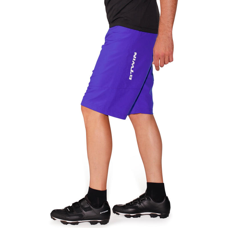500 Mountain Bike Shorts - Blue