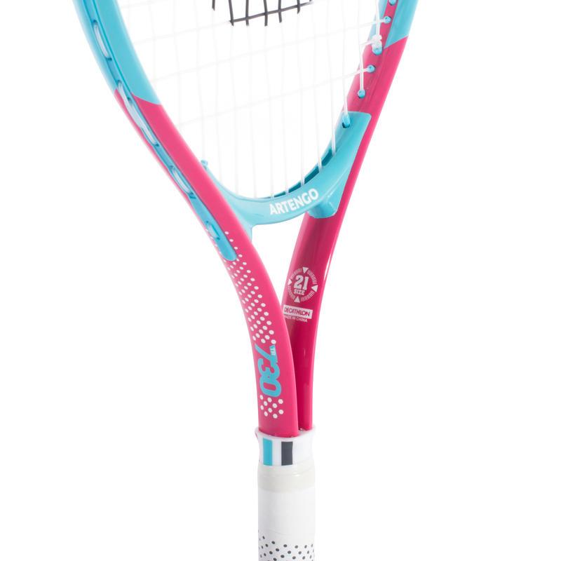 Raqueta de tenis niños rojo TR 730 JR 21