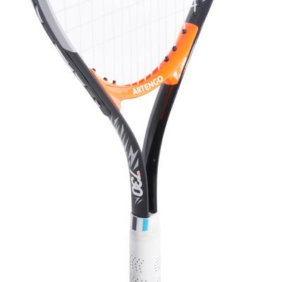 مضرب التنس للأطفال مقاس 25 - ARTENGO TR730 - لون أسود/ برتقالي