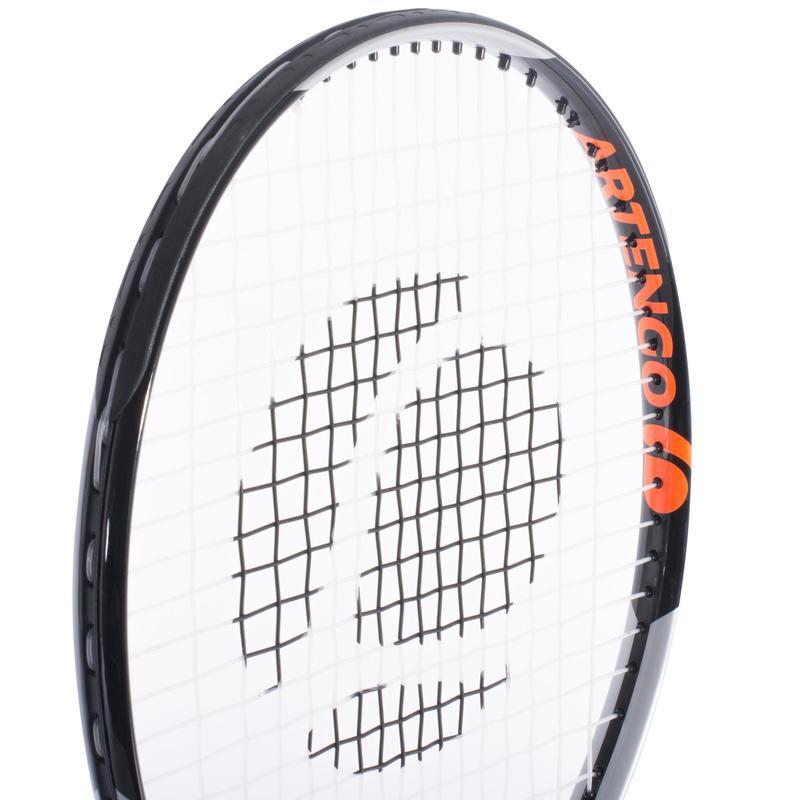 ce30f3513b Racchetta tennis bambino TR730 25 pollici nero-arancione
