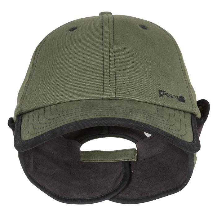 Jagd-Schirmmütze Fleece grün