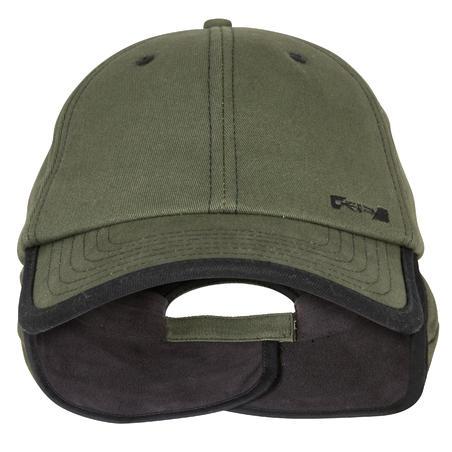 Fleece Hunting Cap Green
