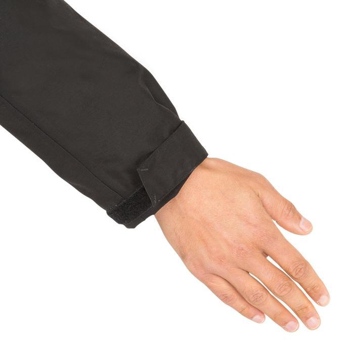 Warme heren zeiljas 100 zwart