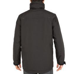 Chaqueta cálida de vela hombre 100 negro