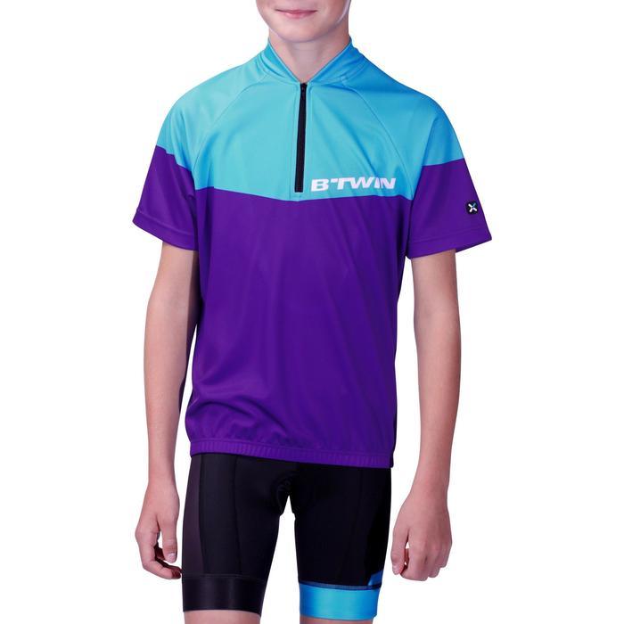 Maillot manches courtes vélo enfant 500 - 955441
