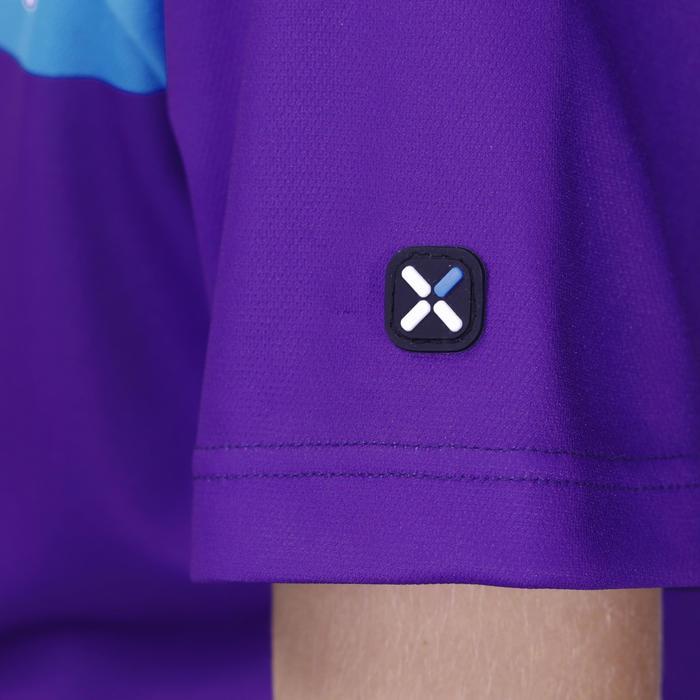 Fietsshirt korte mouwen kinderen 500 blauw