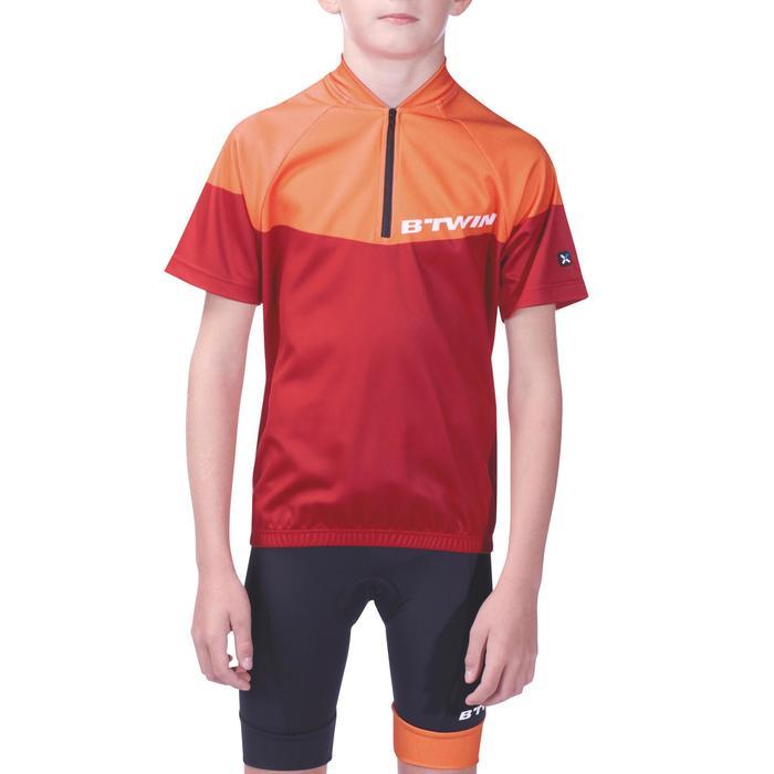 Maillot manches courtes vélo enfant 500 - 955456