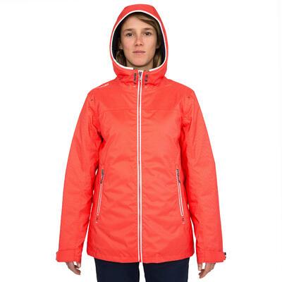 100 Women's Warm, Windproof & Waterproof Sailing Oilskin - Poppy AO