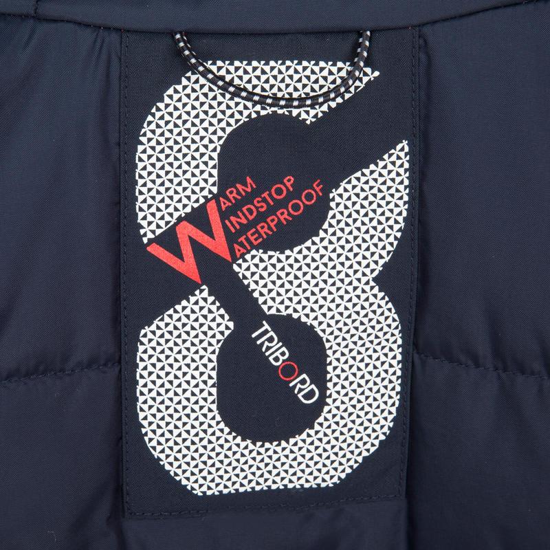 Ciré chaud voile femme 100 imperméable coupe vent - Coquelicot Poppy AO