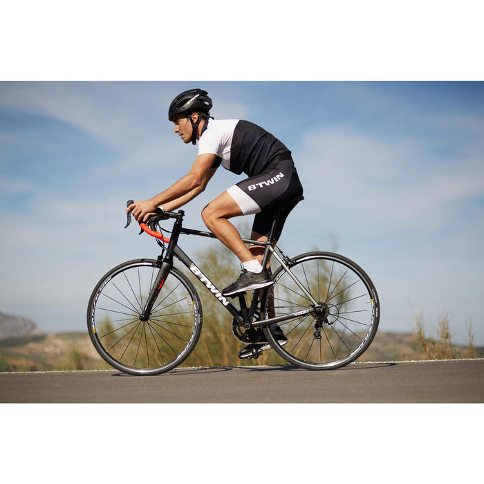 CUISSARD VELO ROUTE HOMME ROADCYCLING 900 NOIR