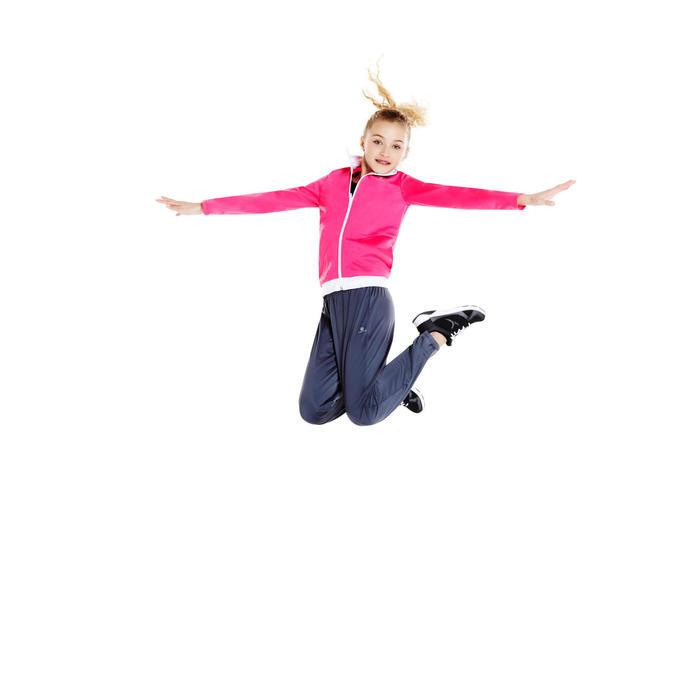 Chándal cálido con cremallera de gimnasia Energy niña rosa Gym'y