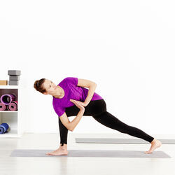 Naadloos yoga T-shirt Actizen voor dames - 956364