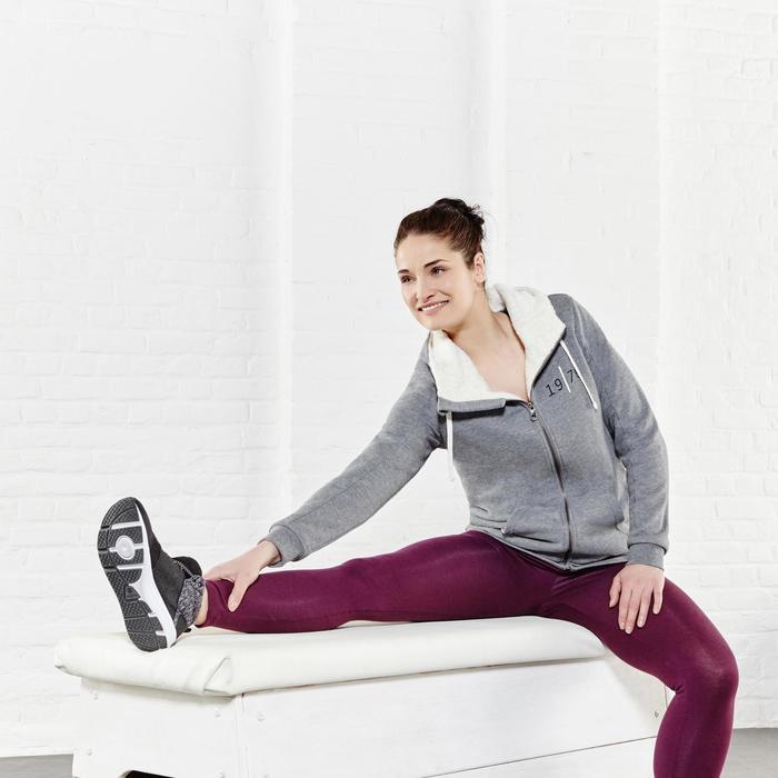 Leggings Salto 100 slim gimnasia Stretching mujer azul marino