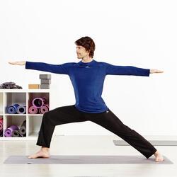 Opvouwbare rubberen yogamat van 1,5 mm dik beige - 956734